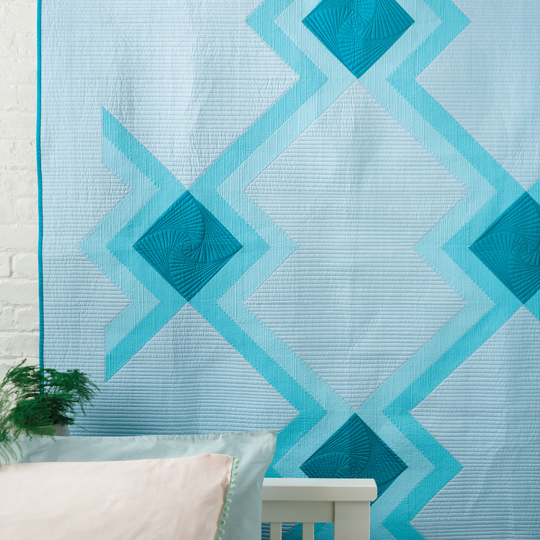 Wonder in Issue 65 of Love, Patchwork & Quilting (photo courtesy of LP&Q)
