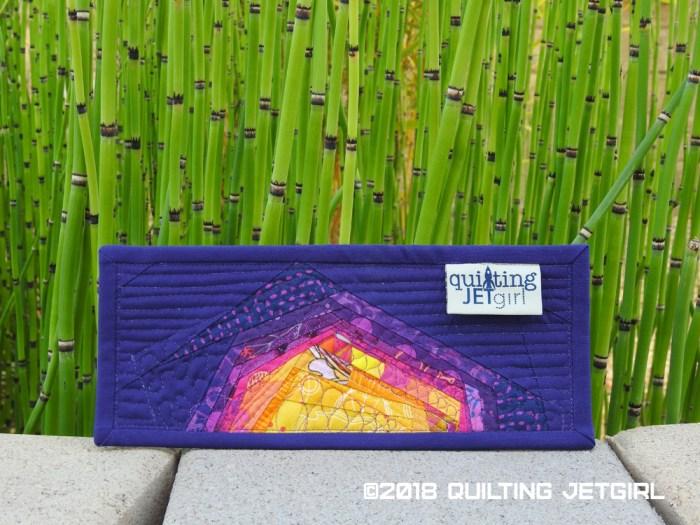 Sunset Mini Mini Quilt - Backing