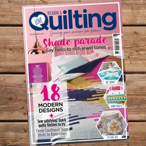 Issue 68 of Love, Patchwork & Quilting