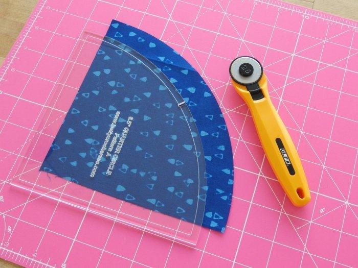 Quarter Arch Tutorial - Cut Arch Fabric