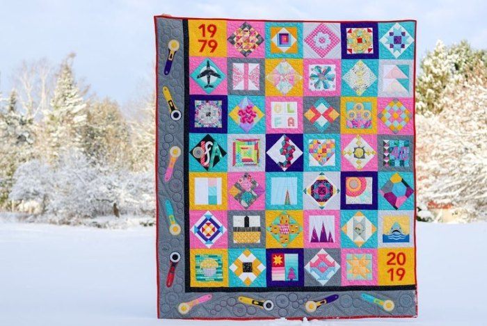 OLFA Creates Quilt Along, photography by Kitty Wilkin