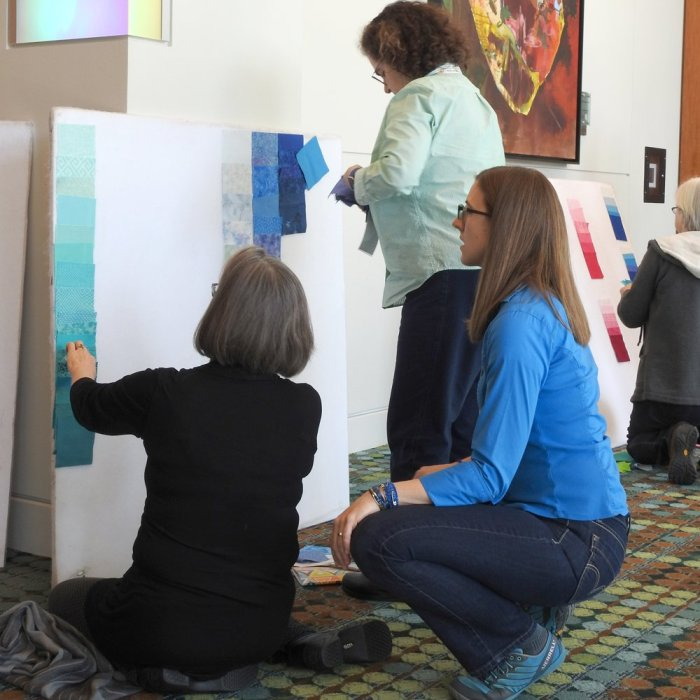 Transparency Quilt Design Workshop One-on-One Time
