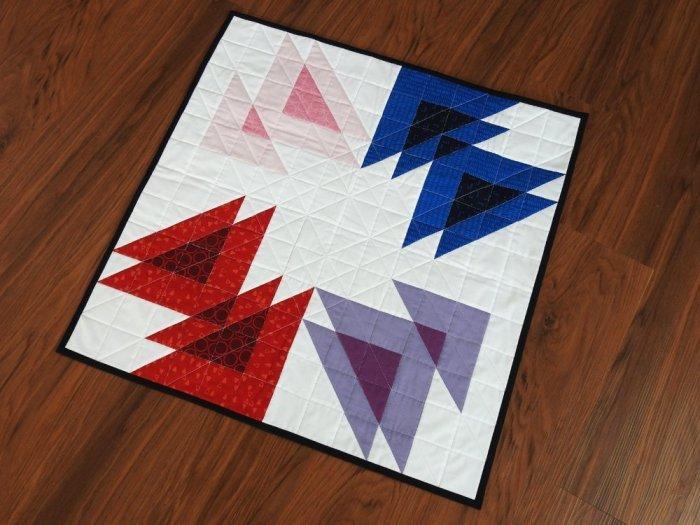Wayward Transparency Mini Quilt