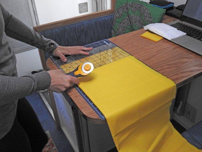 Sparkler Mini Quilt Fabric Prep