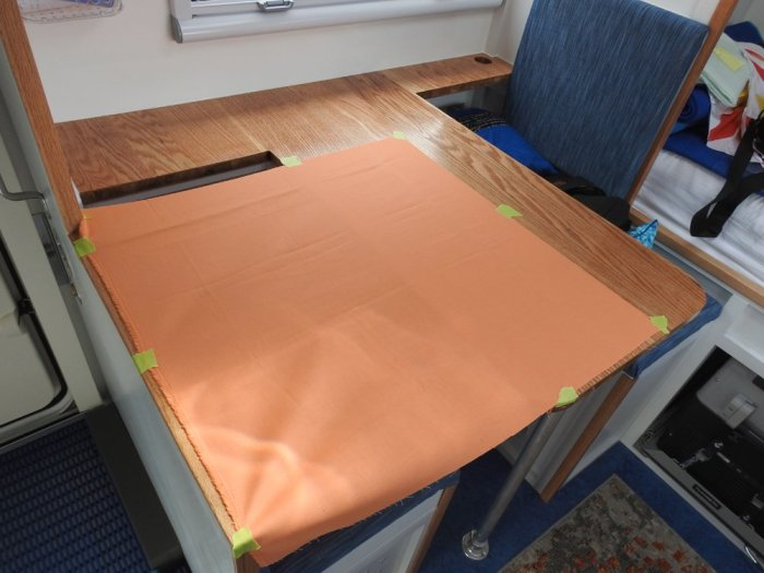 Basting - Securing the Backing