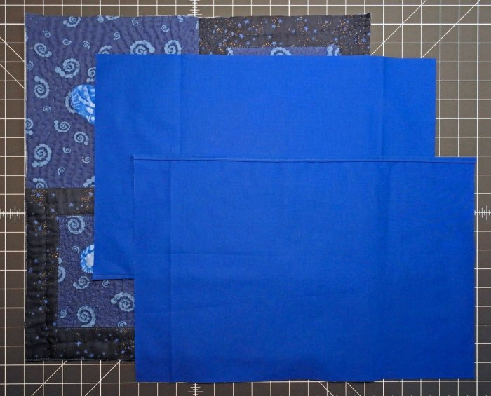 Reverse Applique and Hand Quilted Pillow Tutorial