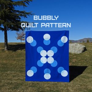 Bubbly Digital Quilt Pattern