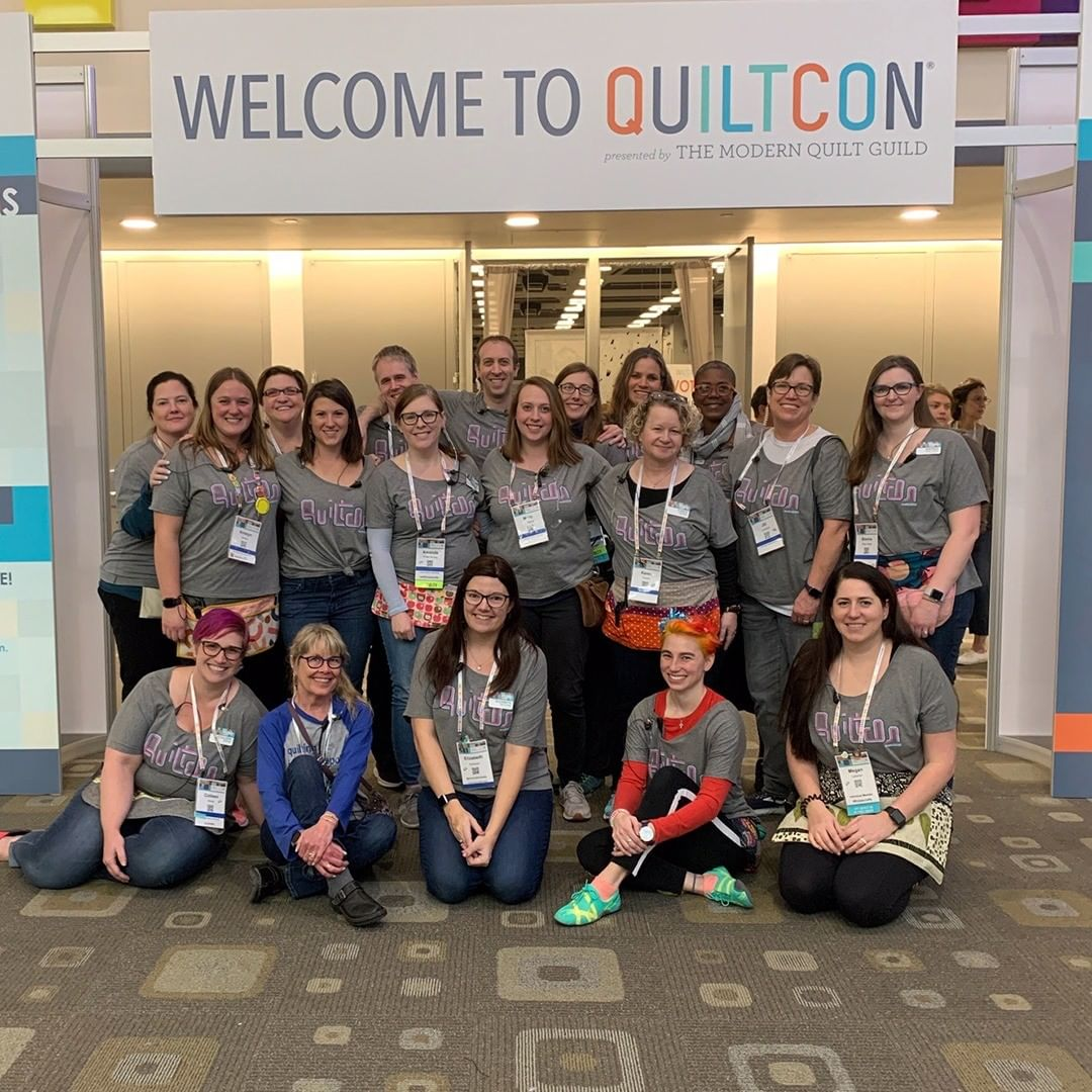 QuiltCon Crew... (mostly) After