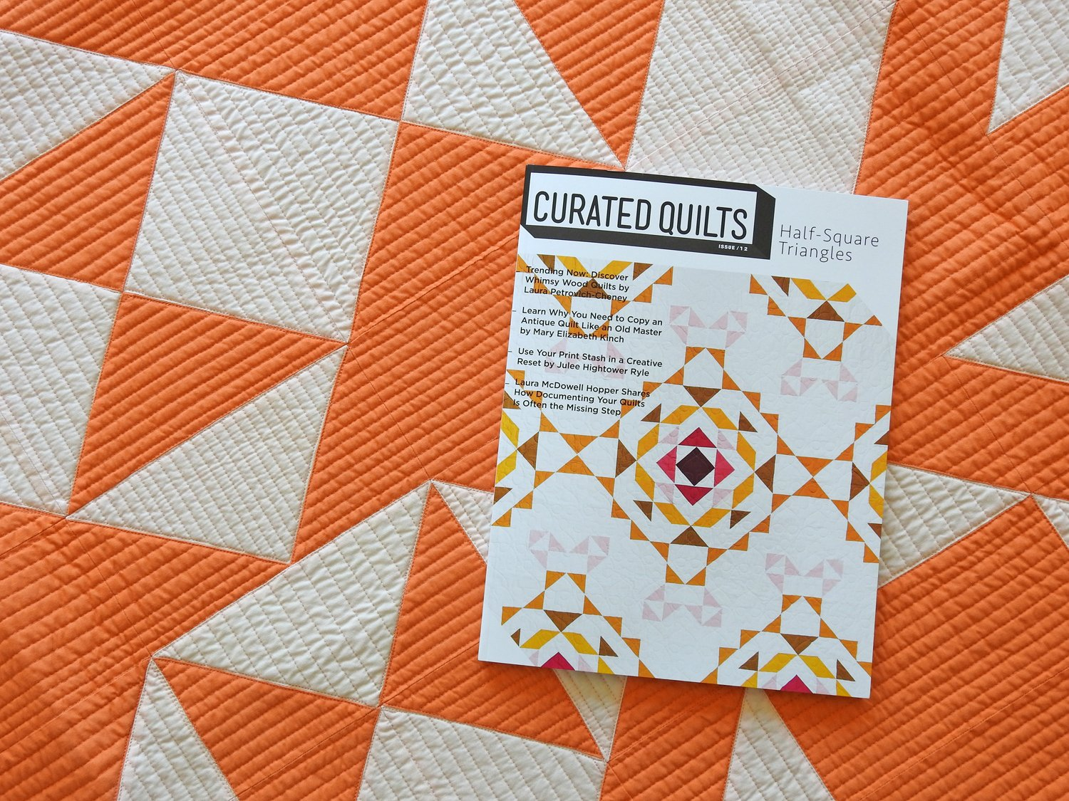 Curated Quilts - Half-Square Triangles