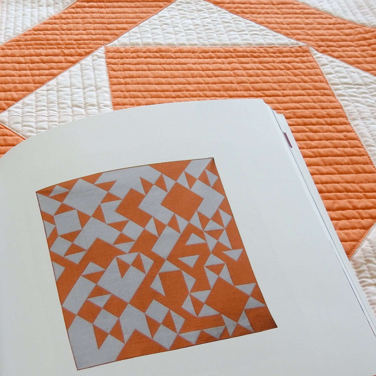 Oh Happy Day - Curated Quilts - Half-Square Triangles
