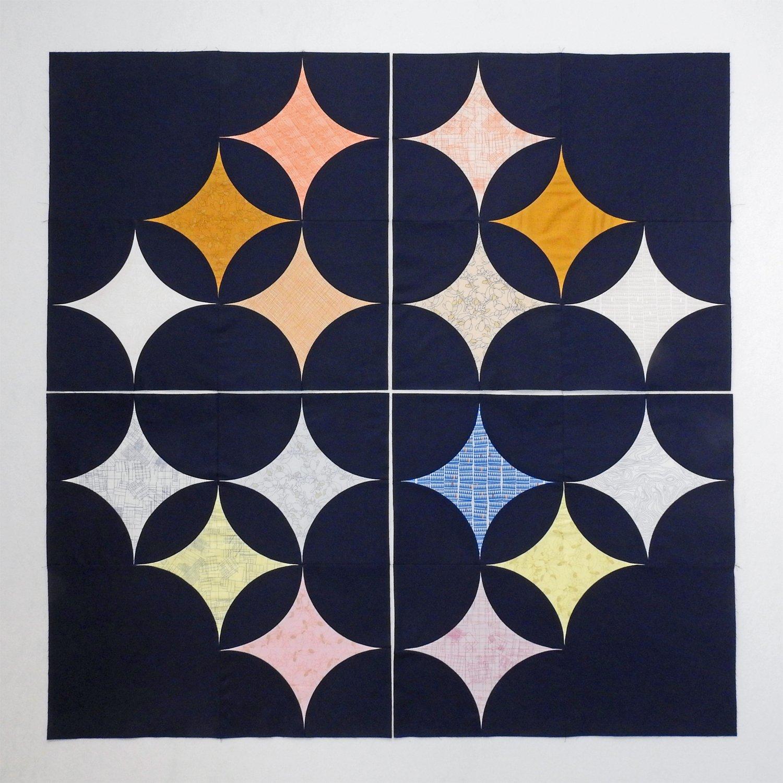 Sky Full of Stars - Pieced Quadrants