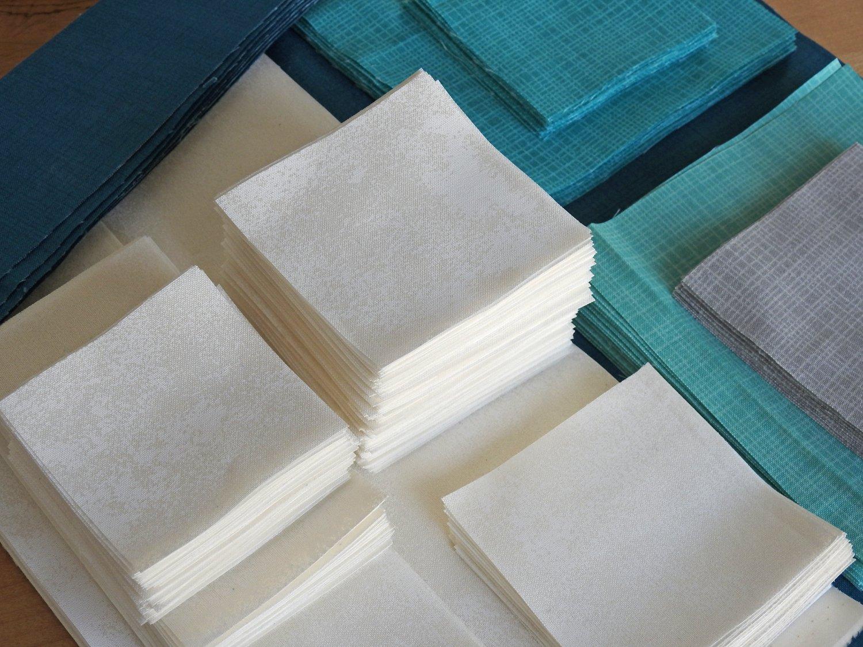 Bokeh Fabrics Cut