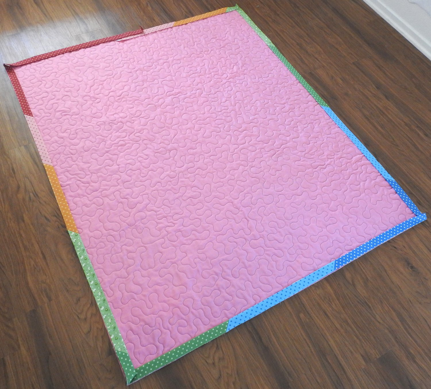 Laying out the binding