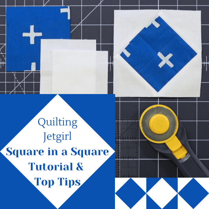 Square in a Square Tutorial & Top Tips