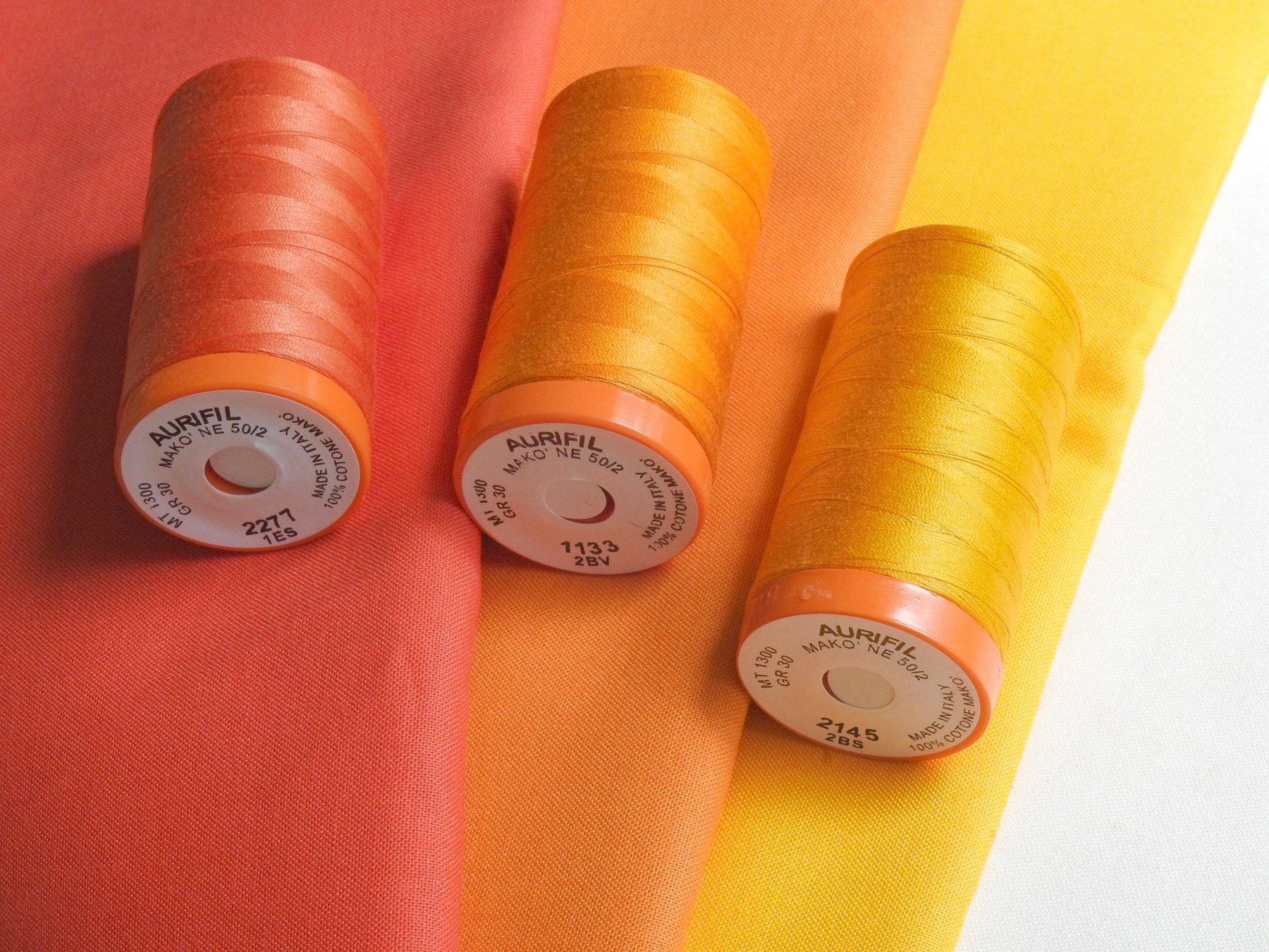 Red Rock Threads - Matching Aurifil Thread