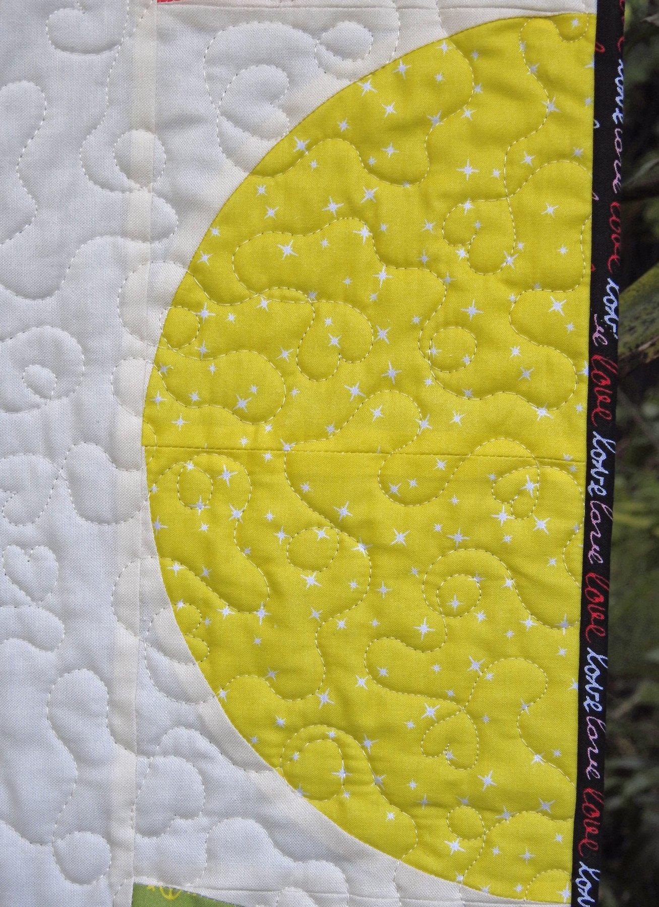 Love is Love Bonus Quilt - Binding Detail