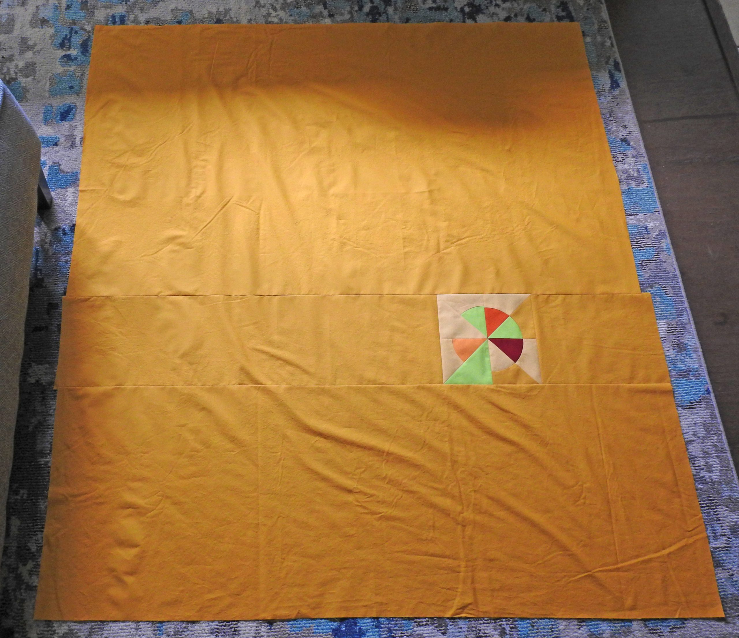 Group Quilt Pieced Backing