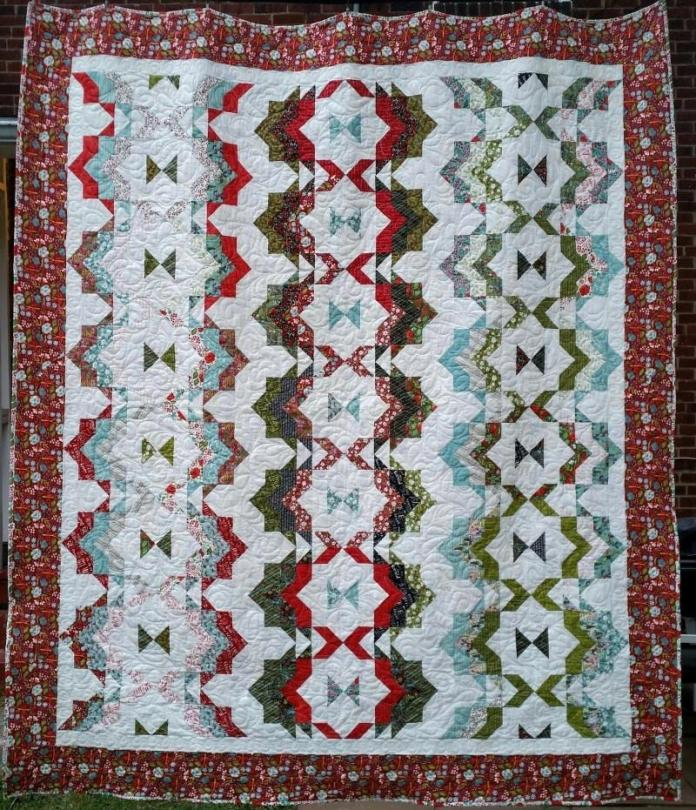 Quilt Ribbon Candy Pattern Free
