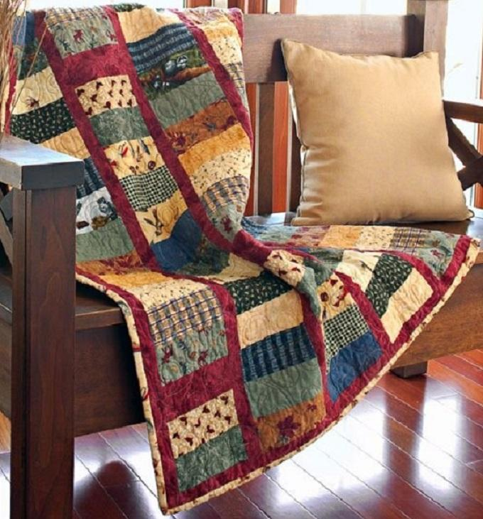 On The Fly Quilt Pattern