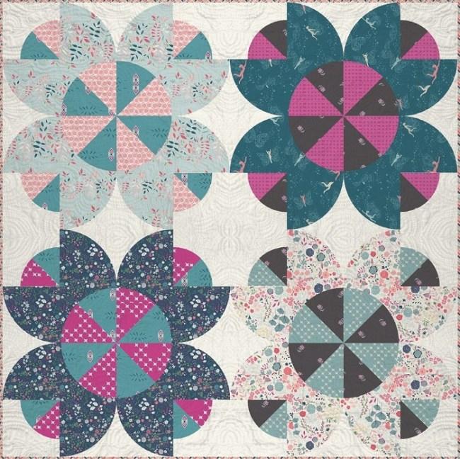 Flower Crown Quilt Pattern
