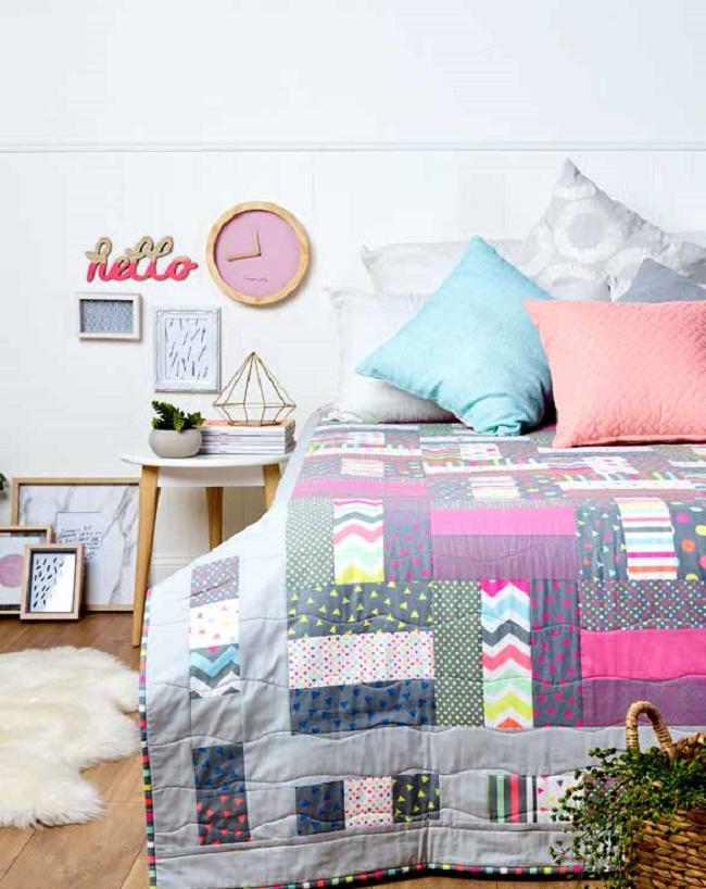 Colour Pop Quilt Pattern