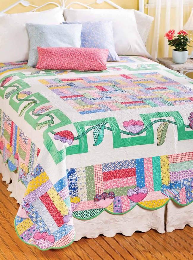 Labyrinth quilt pattern