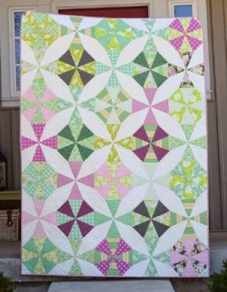 Kaleidoscope Quilt Pattern