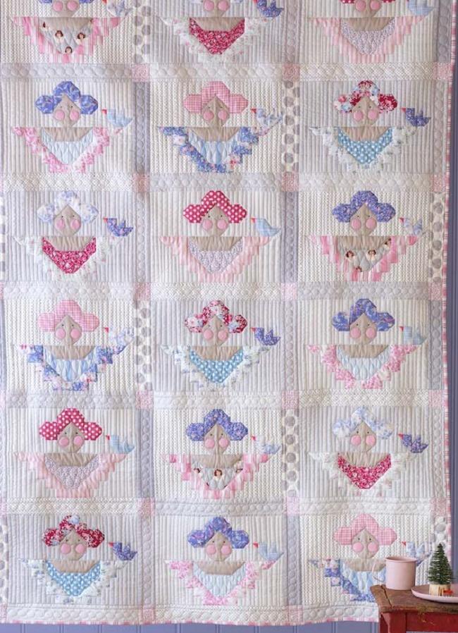 Scrap Angels Quilt Pattern