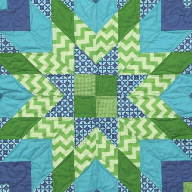 Strip Star Sampler Quilt Pattern