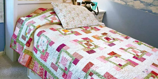 Free Scrap Quilt Patterns Designed by Toby Preston