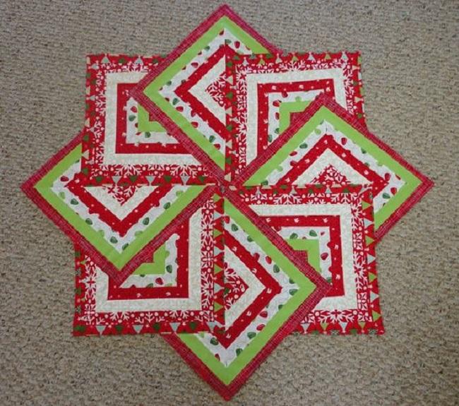 Star Spin Quilt Block