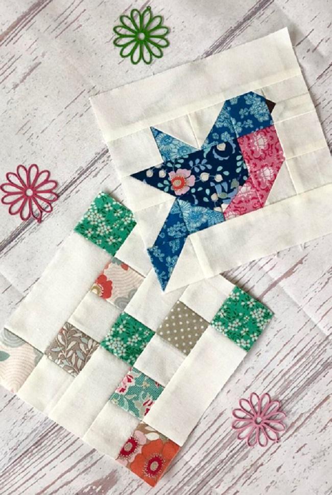 Pattern Bird Quilt Free