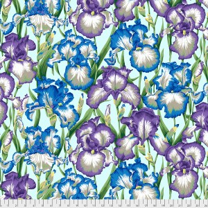 Kaffe Fassett Collective - Bearded Iris - Cool