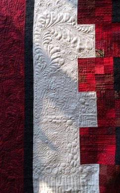 Sweet 16 quilting quilted panel