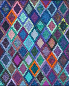 draft diamond quilt