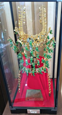 ceremonial headress Silla