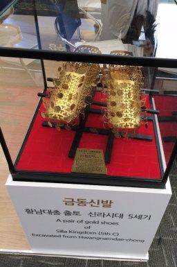 ceremonial shoes Silla