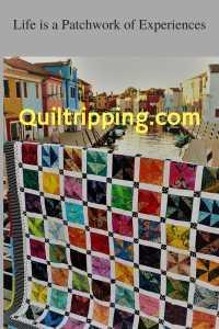 Burano inspired quilt design