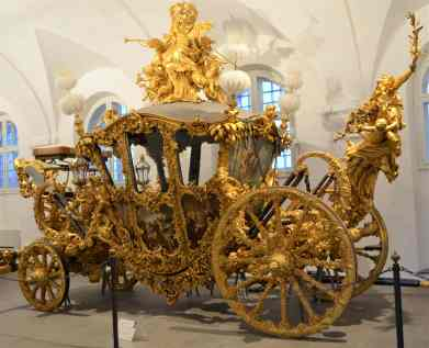 One of Ludwig II's carriages