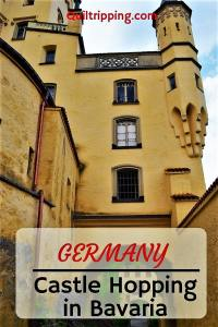 """Discover the fairy tale castles built by """"Mad"""" King Ludwig in Germany's Bavaria region that served as the model for the Disney castles #germany #bavaria #neuschwanstein #linderhof #hohenscheangau #csastle"""