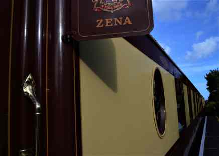 ZZena, our British Pulman car