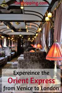 An unforgettable once in a lifetime experience on the Orient Express from Venice to London #oreintexpress #luxurytrain #train