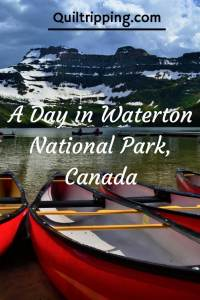 Waterton National Park - where the mountains meet the prairie #canada #waterton #princeofwaleshotel