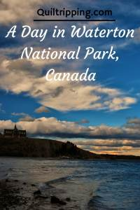 A Day in Waterton National Park