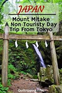 Mount Mitake is an easy non-touristy day trip from Tokyo #mountmitake #tokyodaytrip #japan