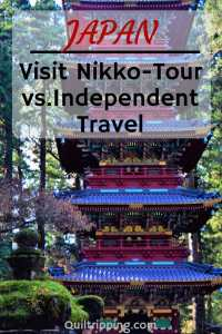 Visiting Nikko Japan on a tour or independently #japan #nikko #nikkotour