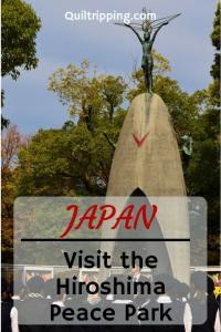 Read this award winning article about the Hiroshima Memorial Peace Park #hiroshima #japan #peacepark