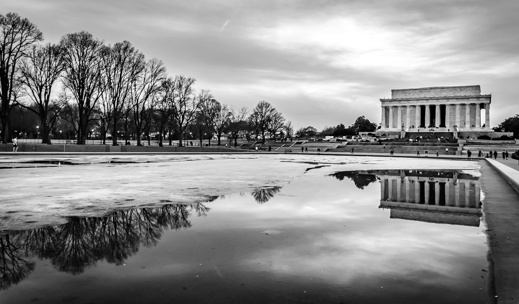 Photo essay washington dc in black and white