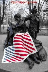 Washington DC Flag quilt