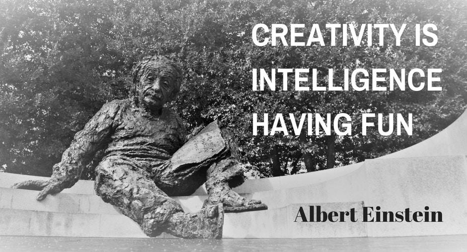 Albert Einstein statue in Washington DC
